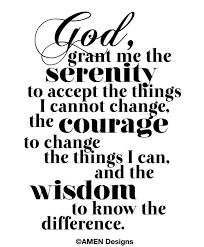 Printable Typography.Serenity Prayer. 8x10. DIY. PDF. | Etsy